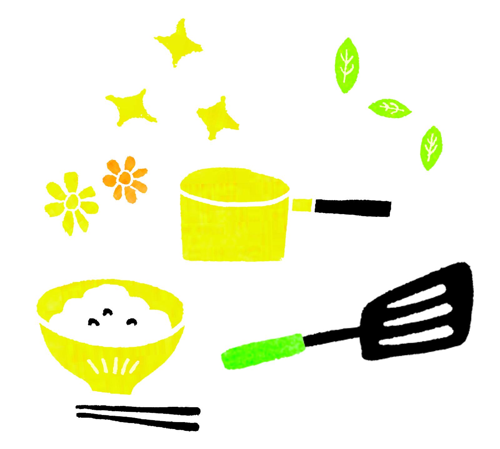 食事 & キッチンイラスト