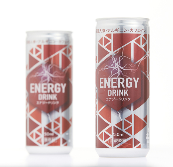 「ENERGY DRINK」 パッケージデザイン